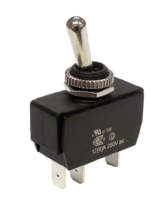 WEATHERPROOF <br>Toggle switch HEAVY DUTY <BR> ON-OFF SPST 20Amp <br>ALT/SW-R13-447A1-1-25